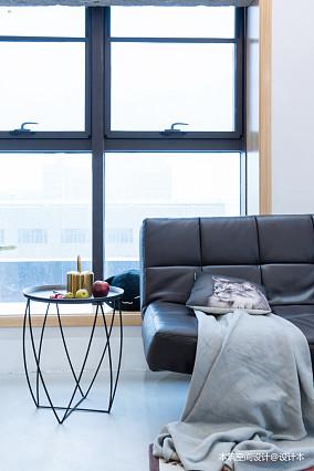 典雅62平LOFT复式客厅图片欣赏