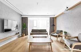 浪漫78平北欧三居客厅效果图