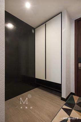 140㎡现代北欧鞋柜设计二居现代简约家装装修案例效果图
