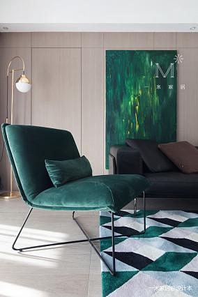 优美83平现代二居装饰图片二居现代简约家装装修案例效果图