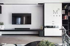 轻奢52平现代二居设计图二居现代简约家装装修案例效果图