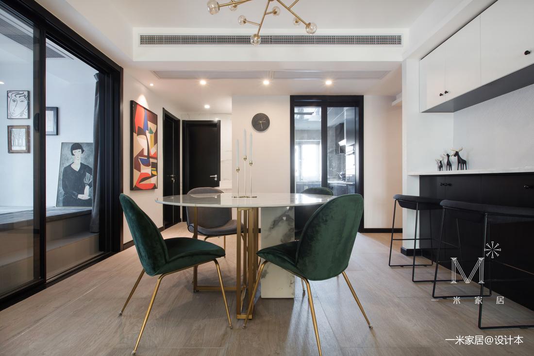 温馨140平现代二居装修美图二居现代简约家装装修案例效果图