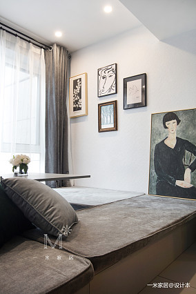 轻奢84平现代二居装潢图二居现代简约家装装修案例效果图
