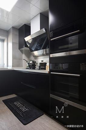 140㎡现代北欧厨房设计二居现代简约家装装修案例效果图