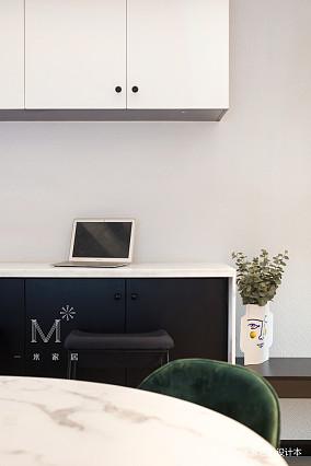 明亮50平现代二居效果图欣赏二居现代简约家装装修案例效果图