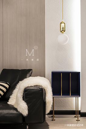大气76平现代二居案例图二居现代简约家装装修案例效果图