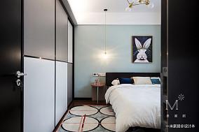 温馨62平现代二居美图二居现代简约家装装修案例效果图