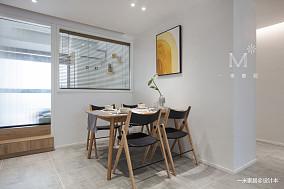 优美110平北欧三居设计图三居北欧极简家装装修案例效果图