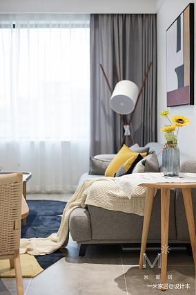 精致116平北欧三居图片欣赏家装装修案例效果图