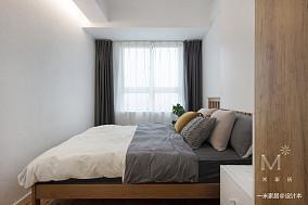 优雅107平北欧三居装修图三居北欧极简家装装修案例效果图