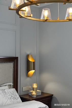 轻奢91平现代四居卧室设计图