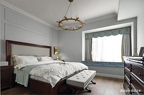 温馨105平现代四居卧室效果图片大全四居及以上现代简约家装装修案例效果图