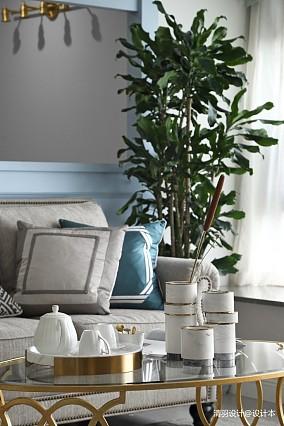 明亮114平现代四居客厅装修装饰图四居及以上现代简约家装装修案例效果图