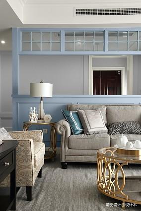 简洁99平现代四居客厅图片欣赏四居及以上现代简约家装装修案例效果图