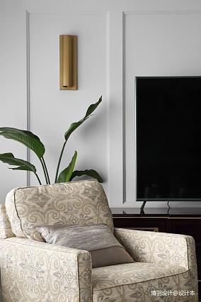 温馨139平现代四居客厅布置图四居及以上现代简约家装装修案例效果图