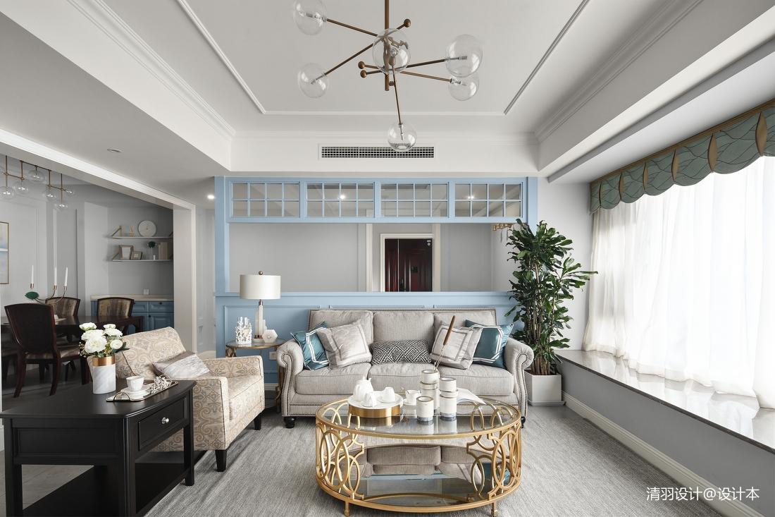 悠雅159平现代四居客厅装饰图四居及以上现代简约家装装修案例效果图