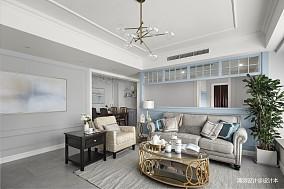 精美113平现代四居客厅装修图四居及以上现代简约家装装修案例效果图