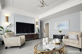 明亮159平现代四居客厅设计美图四居及以上现代简约家装装修案例效果图