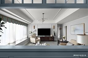 明亮150平现代四居客厅实景图四居及以上现代简约家装装修案例效果图