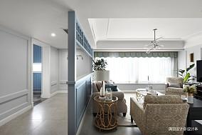 微风轻澜四居及以上现代简约家装装修案例效果图