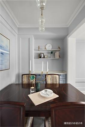 优雅150平现代四居餐厅效果图片大全四居及以上现代简约家装装修案例效果图