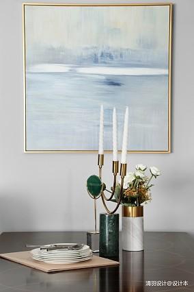 华丽155平现代四居餐厅实景图四居及以上现代简约家装装修案例效果图