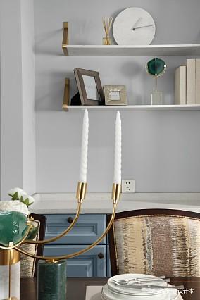 典雅137平现代四居餐厅装饰图四居及以上现代简约家装装修案例效果图