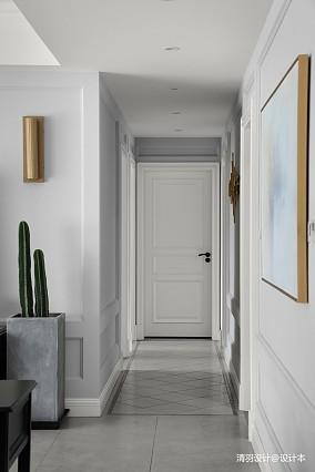 典雅155平现代四居过道图片欣赏四居及以上现代简约家装装修案例效果图