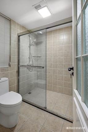 精美126平现代四居卫生间装饰图片四居及以上现代简约家装装修案例效果图