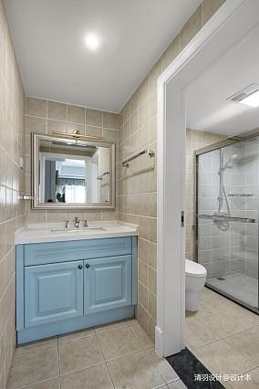 华丽101平现代四居卫生间装修设计图四居及以上现代简约家装装修案例效果图