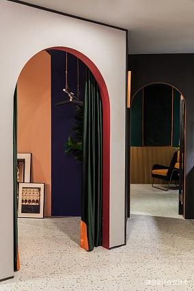 温馨78平混搭二居客厅实景图片