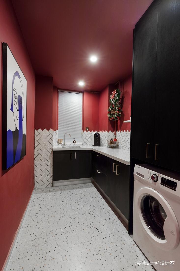 温馨63平混搭二居厨房装修图片餐厅潮流混搭厨房设计图片赏析