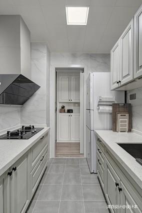 优雅61平现代二居厨房装饰图片