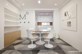 优美120平简约三居装潢图三居现代简约家装装修案例效果图