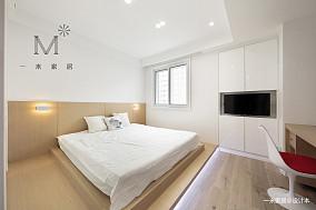 质朴71平简约三居设计图三居现代简约家装装修案例效果图