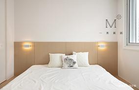 简洁72平简约三居布置图三居现代简约家装装修案例效果图
