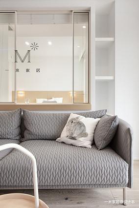 浪漫127平简约三居装修设计图三居现代简约家装装修案例效果图