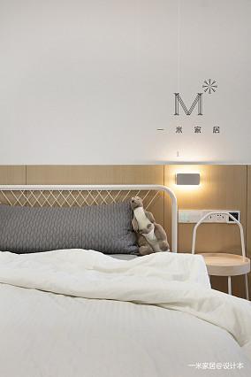 优雅110平简约三居设计案例三居现代简约家装装修案例效果图