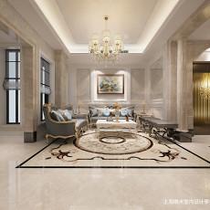 质朴583平欧式别墅客厅装修美图