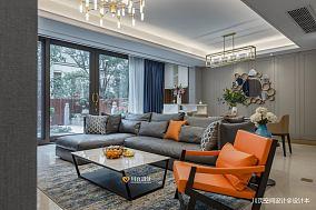 质朴51平现代复式客厅装饰图