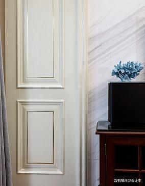 简洁53平美式二居客厅效果图欣赏二居美式经典家装装修案例效果图