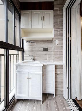 勾勒幸福美式阳台设计图二居美式经典家装装修案例效果图