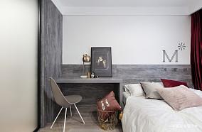 典雅50平现代二居实景图片二居现代简约家装装修案例效果图