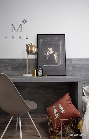 简洁78平现代二居效果图片大全二居现代简约家装装修案例效果图