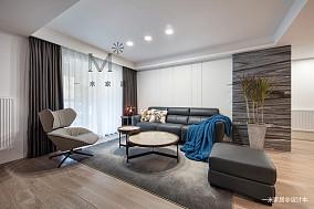 典雅52平现代二居装修图二居现代简约家装装修案例效果图