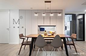 浪漫90平现代二居布置图二居现代简约家装装修案例效果图