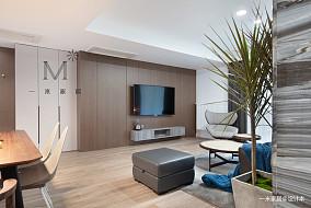 温馨51平现代二居装修图二居现代简约家装装修案例效果图