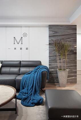 优雅54平现代二居装修图片二居现代简约家装装修案例效果图