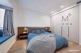 浪漫61平现代二居美图二居现代简约家装装修案例效果图