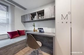 温馨65平现代二居装饰图二居现代简约家装装修案例效果图